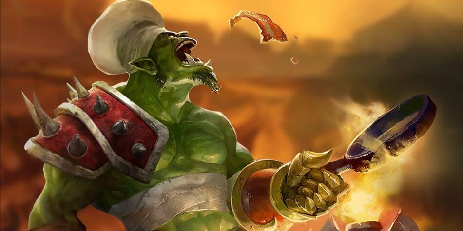 Spela med karaktär i World of Warcraft